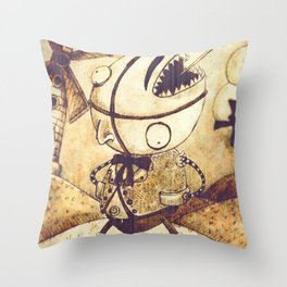 Ranaquattroluigicentotredici Throw Pillow