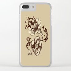 Listen to Your Heart Clear iPhone Case