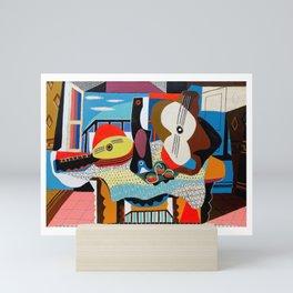Pablo Picasso, Mandolin and Guitar (Mandoline et guitare) 1924 Artwork Mini Art Print