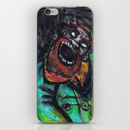 Zombie pirate iPhone Skin