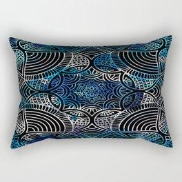 Watercolour Floral Pattern Rectangular Pillow