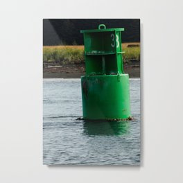 Marker Buoy Photography Print Metal Print