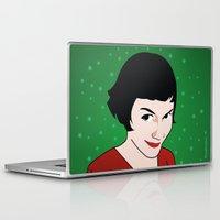 amelie Laptop & iPad Skins featuring Amelie by Pendientera