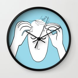 ASL Teach Wall Clock