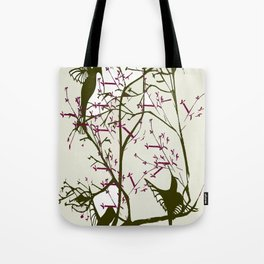 Hummingbirgds, before anything had a soul Tote Bag
