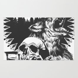The Cycle Of Death Rug