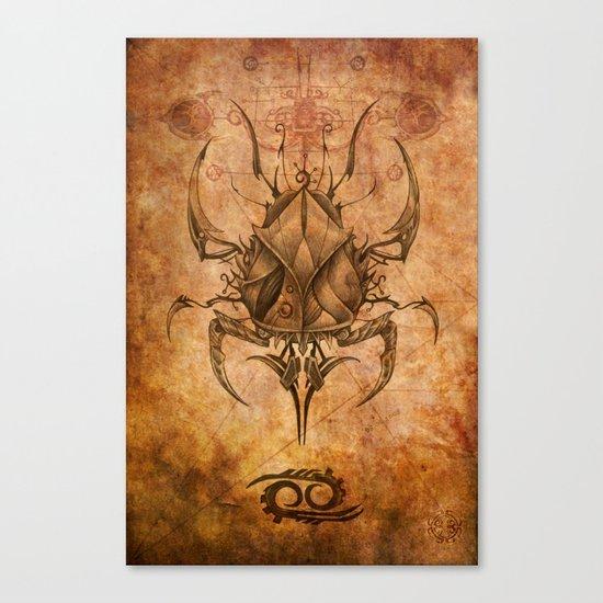 Zodiac: Cancer Canvas Print