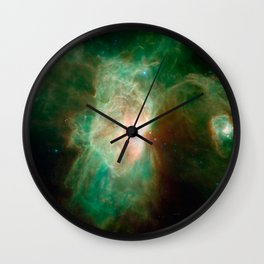 the horse becomes the phoenix | space #04 Wall Clock