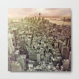 moody Manhattan Metal Print