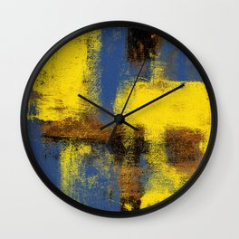 Linden Square Wall Clock