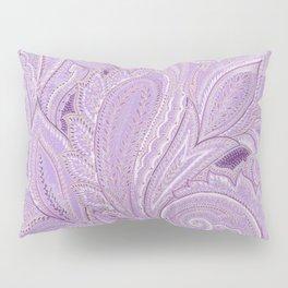 paisley purple Pillow Sham