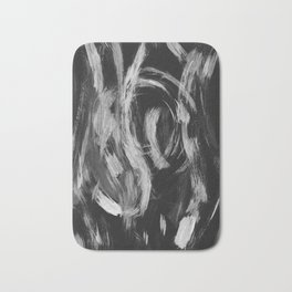Brushstrokes Abstract Minimalism #2 #minimal #decor #art #society6 Bath Mat