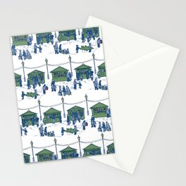 Let's Go to the Market! – Xmas Edition Stationery Cards