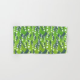 Lily of the Valley Pattern Hand & Bath Towel