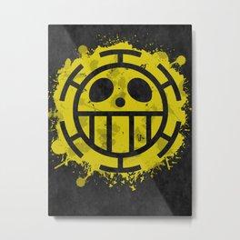 Heart Pirates Metal Print