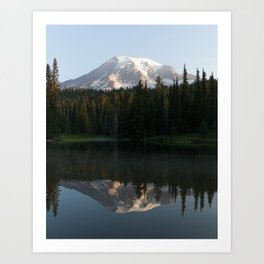 Reflection Lake Art Print