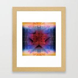 Cherub Under the Microscope: 5 Framed Art Print