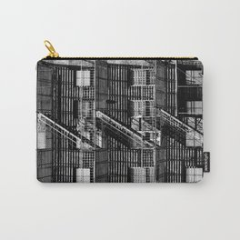 Fire escapes at noon Carry-All Pouch