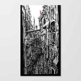 Varenka's Balcony Canvas Print