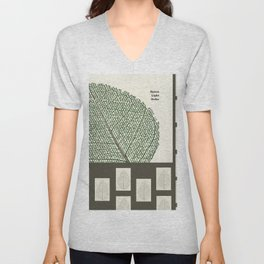 Space and Light and Order Quote #1 Unisex V-Neck