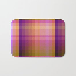 Complimentary Color harmony yellow/purple 2 Bath Mat