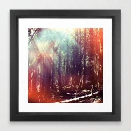 gild the morrow Framed Art Print
