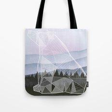 Geometric Nature - Bear (Full) Tote Bag