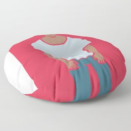 OOTD#1 : Outfit Of The Day Floor Pillow