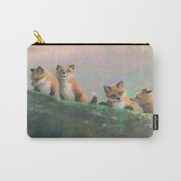Red Fox Kits First Outing Carry-All Pouch