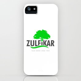 Zulfikar LTD. gifts iPhone Case