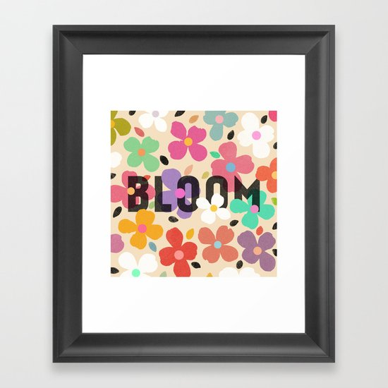 Bloom by Galaxy Eyes & Garima Dhawan Framed Art Print