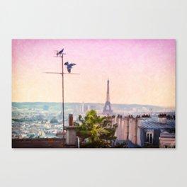 Montmartre Views Canvas Print