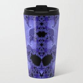 Fabulous Fractals - Blue Shells Travel Mug
