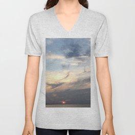 The Sun Sleeps Unisex V-Neck