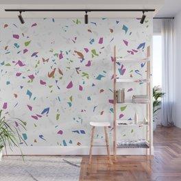 Mixed Colour Terrazzo Pattern Wall Mural