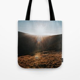 Sundown - Landscape and Nature Photography Tote Bag