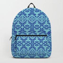 Vintage elegant pattern blue Backpack