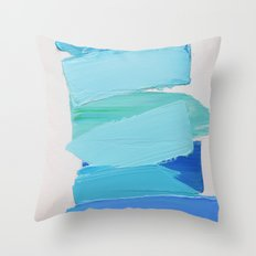 Ocean Blues No. 2 Throw Pillow