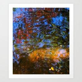 Dappled Water in a Georgia Park Kunstdrucke