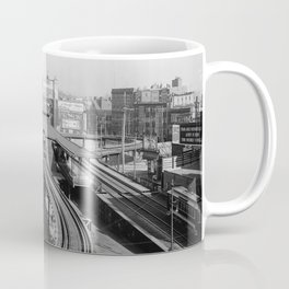 Dudley Station on the Boston Elevated Railway 1904 Coffee Mug