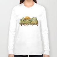 yosemite Long Sleeve T-shirts featuring Yosemite  by Geryes