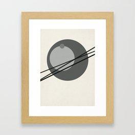 Juxtapose III Framed Art Print