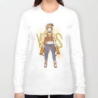 sailor venus Long Sleeve T-shirts featuring Sailor Moon Gang: Venus by asieybarbie