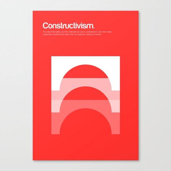 Constructivism Canvas Print