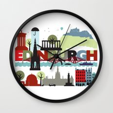 Edinburgh landmarks & monuments  Wall Clock