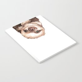 Baby Sloth Notebook