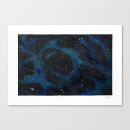 Spacescape Swirl Canvas Print