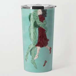 The Shape of Water - Watercolor Travel Mug