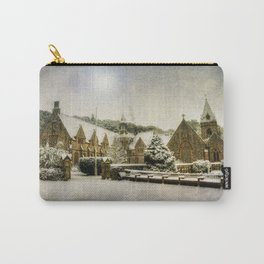 Priory In The Snow Carry-All Pouch