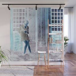 Inside Out When Outside or In Wall Mural
